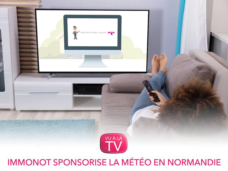 Immonot.com parraine la météo sur France 3 Normandie