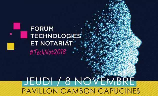 Forum Technologies  et Notariat à Paris